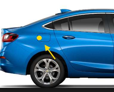 Chevy Cruze Fuel Door