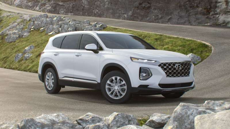 Hyundai Santa Fe: How to Open Fuel Door