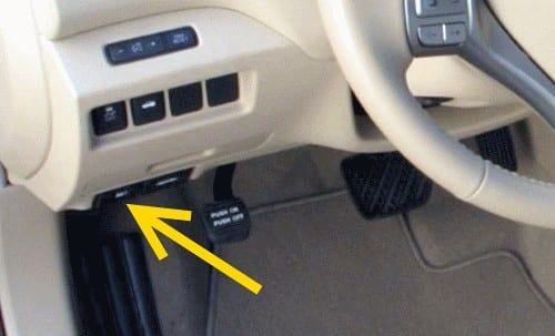 Locate The Fuel Door Release Lever Next To Hood You Can Find It On Lower Left Side Of Steering Wheel
