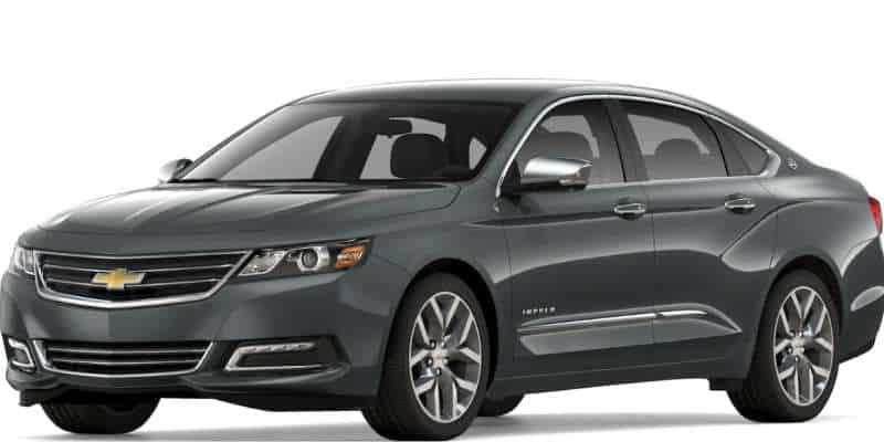 Chevy Impala: How to Open Fuel Door