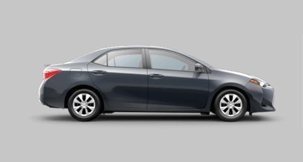 Toyota Corolla — How to Set Auto Door Lock Behavior