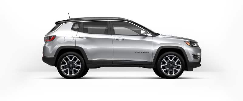 Jeep Compass: Open Fuel Door