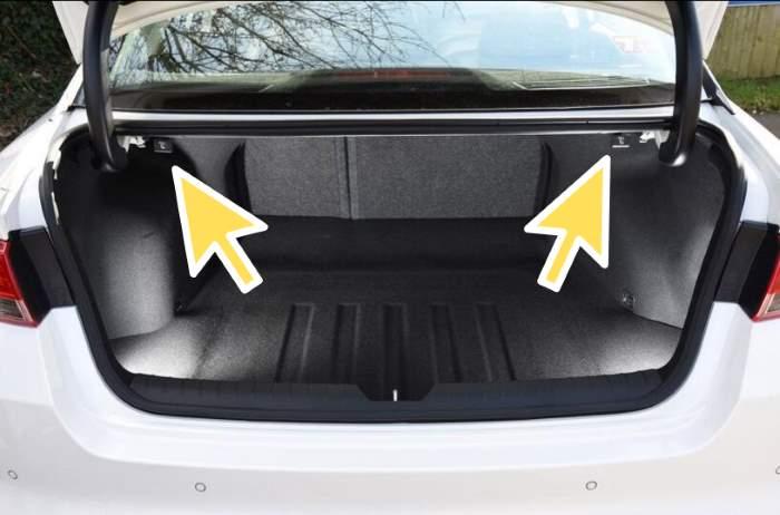 Kia Fold Back Seat Down Levers