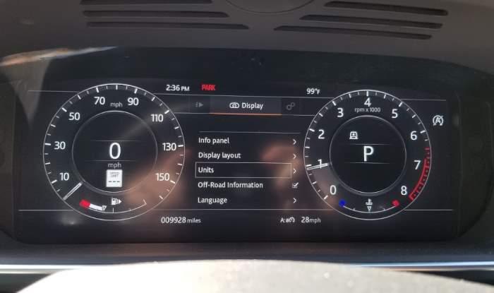 Range Rover Units