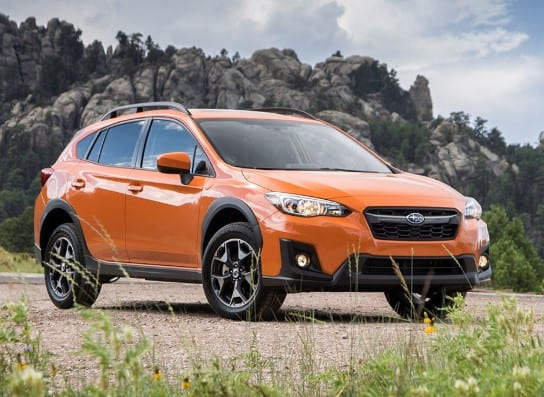 Subaru Four Crosstrek: Reset Tire Pressure System