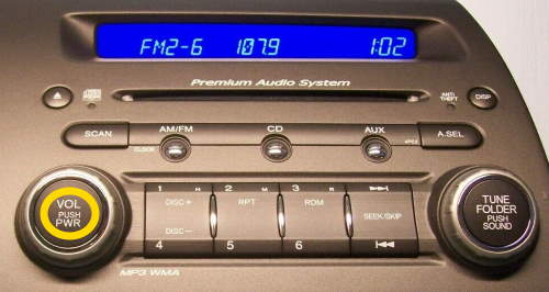Civic Stereo Power Button