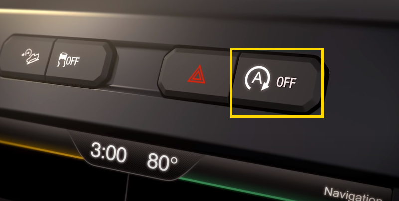 Ford F150 Auto Start-Stop Button
